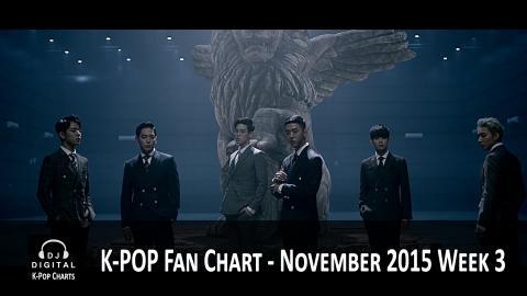 Top K-Pop Songs Chart (Fan Chart) - November 2015 Week 3