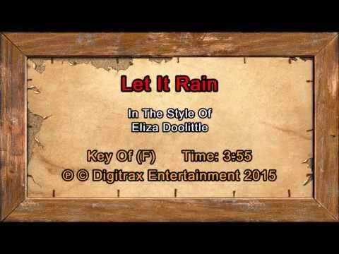 Eliza Doolittle - Let It Rain (Backing Track)