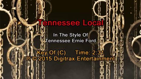 Tennessee Ernie Ford - Tennessee Local (Backing Track)