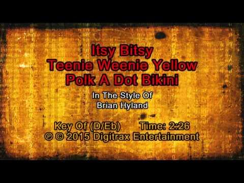 Brian Hyland - Itsy Bitsy Teeny Weenie Yellow Polka Dot Bikini (Backing Track)