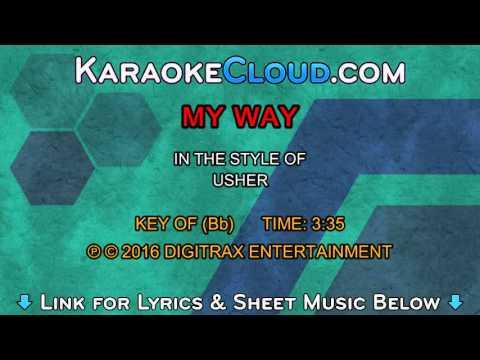 Usher - My Way (Backing Track)