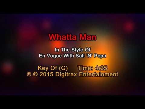 En Vogue & Salt-N-Pepa - Whatta Man (Backing Track)