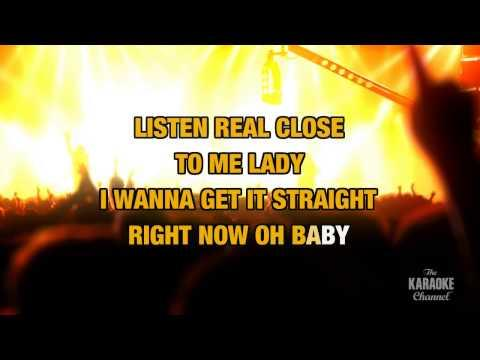 Lady Blue in the style of Leon Russell | Karaoke with Lyrics