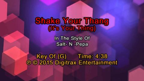 Salt-N-Pepa - Shake Your Thang (It's Your Thing) (Backing Track)