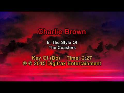 The Coasters - Charlie Brown (Backing Track)