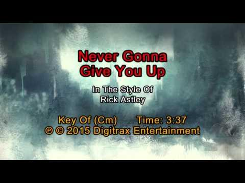 Rick Astley - Never Gonna Give You Up (Backing Track)