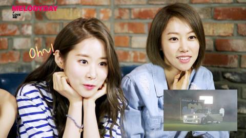 멜로디데이(MelodyDay) '#LoveMe M/V Commentary' [ENG SUB]