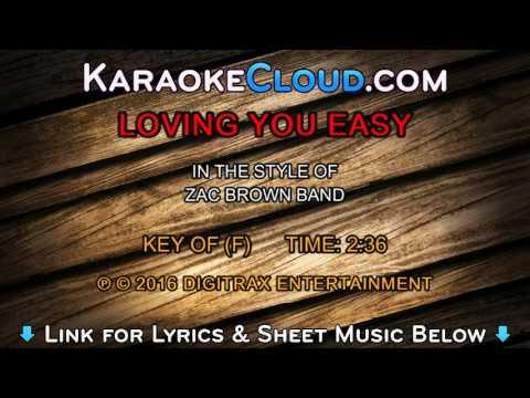 Zac Brown Band - Loving You Easy (Backing Track)