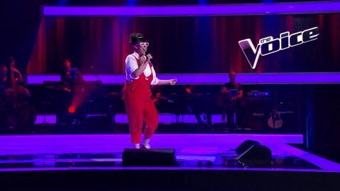 Fem Belling Sings Bye Bye Blackbird   The Voice Australia 2015