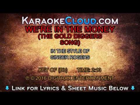 Ginger Rogers - We're In The Money (The Gold Diggers Song)  (Backing Track)