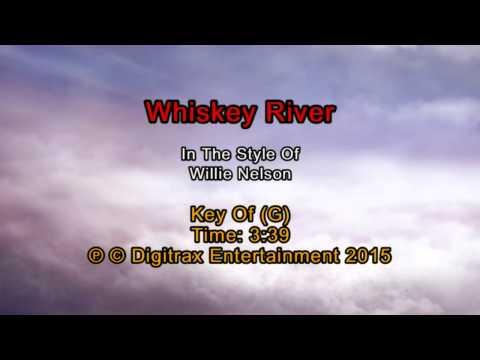 Willie Nelson - Whiskey River (Backing Track)