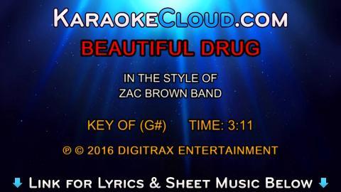 Zac Brown Band - Beautiful Drug (Backing Track)