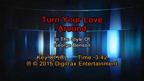 George Benson - Turn Your Love Around (Backing Track)