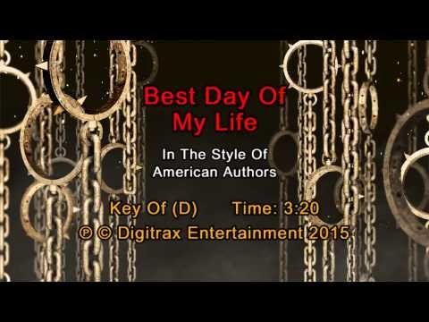 American Authors - Best Day Of My Life (Backing Track)