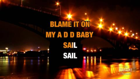 Sail in the style of AWOLNATION | Karaoke with Lyrics
