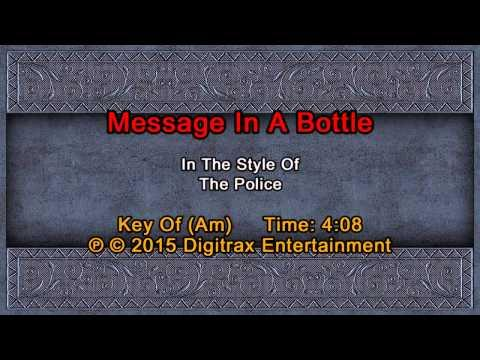 The Police - Message In A Bottle (Backing Track)