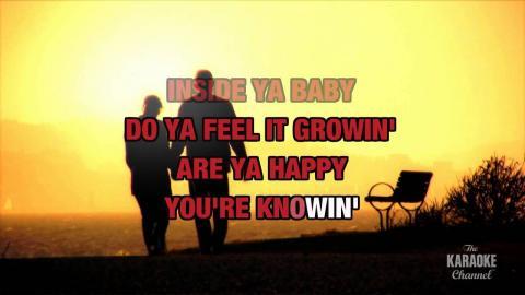 (You're) Having My Baby in the style of Paul Anka & Odia Coates | Karaoke with Lyrics