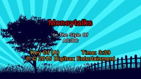 AC/DC - Moneytalks (Backing Track)