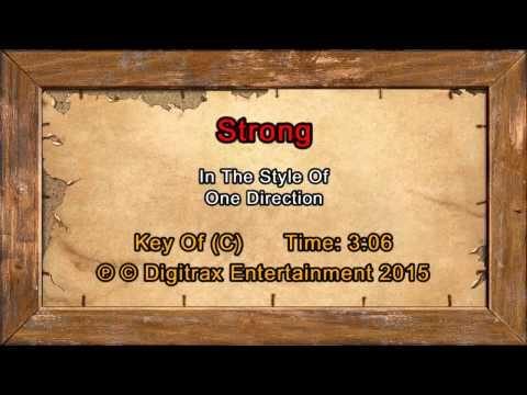 One Direction - Strong (Backing Track)