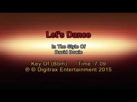 David Bowie - Let's Dance (Backing Track)