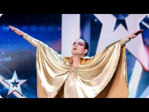 Vince Venus' act is out of this world! | Britain's Got Talent 2015