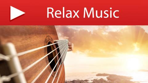 15 MINUTES Relaxation Music & Guitar Music with Ocean Waves