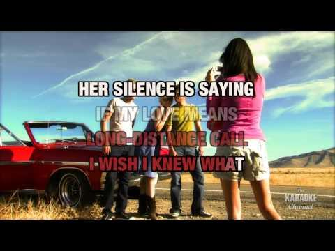 Why Don't That Telephone Ring in the style of Tracy Byrd | Karaoke with Lyrics