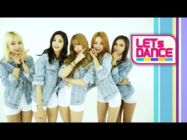 Let's Dance: EXID(이엑스아이디) _ Ah Yeah(아예) [ENG/JPN/CHN SUB]