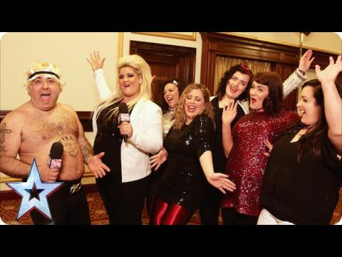 Stavros is overwhelmed by The HoneyBuns! | Britain's Got Talent 2015