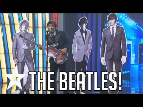 Man Performs With The Beatles On Pilipina's Got Talent! | Got Talent Global