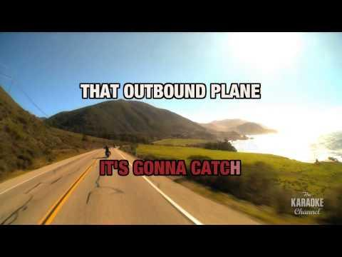 "Outbound Plane in the Style of ""Suzy Bogguss"" with lyrics (no lead vocal)"