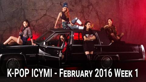 K-Pop New Releases - February 2016 Week 1 - K-Pop ICYMI