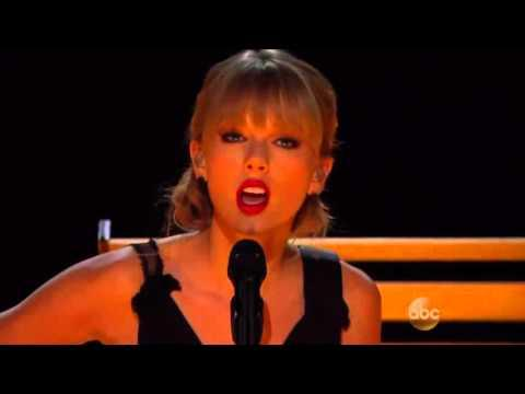 Taylor Swift RED Country Music Version Live