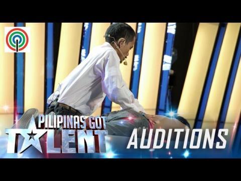 Pilipinas Got Talent Season 5 Auditions: Richard Tumampos - Singing Masseur
