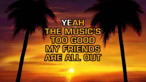 Kenny Chesney - Save It For A Rainy Day (Karaoke)