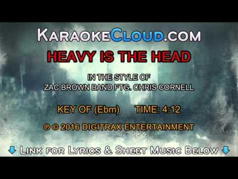 Zac Brown Band ftg. Chris Cornell - Heavy Is The Head (Backing Track)