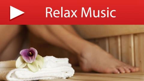 15 MINUTES Relaxation Music for Home Sauna Room & Spa Relaxation