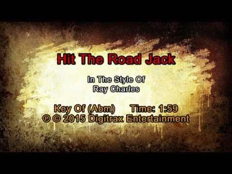 Ray Charles - Hit The Road Jack (Backing Track)