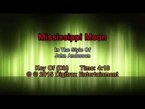 John Anderson - Mississippi Moon (Backing Track)