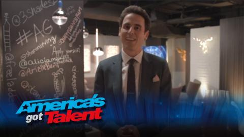 Backstage with Oz Pearlman - America's Got Talent 2015 (Extra)