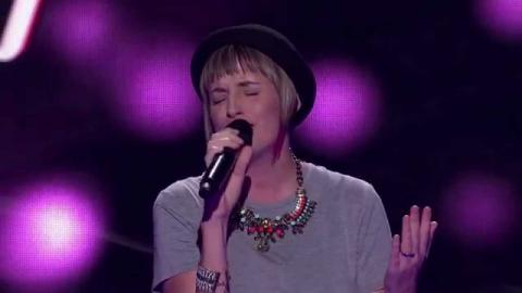 Amber Nichols Sings Strong | The Voice Australia 2015