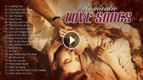 Most Romantic Old Love Songs 80's 90's Playlist - Greatest Hits Love