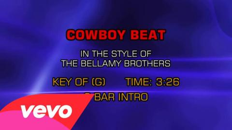 The Bellamy Brothers - Cowboy Beat (Karaoke)