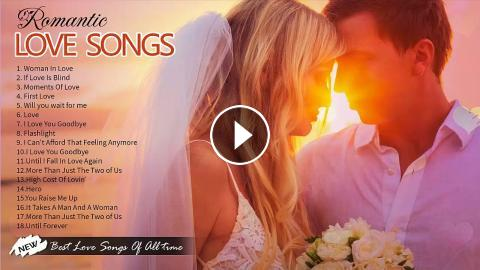Best Love Songs Of The 80's 90's - Romantic Love Songs
