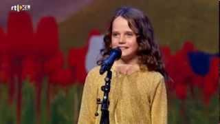 Holland's Got Talent - Amira (9) Sings Opera O Mio Babbina Caro - Full Version