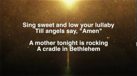 Village2Village - A Cradle in Bethlehem (Lyric Video)