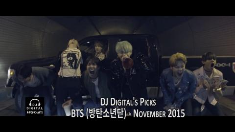 Top 20 BTS Songs (DJ Digital's Picks) - November 2015