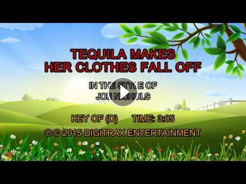 Joe Nichols - Tequila Makes Her Clothes Fall Off (Backing Track)