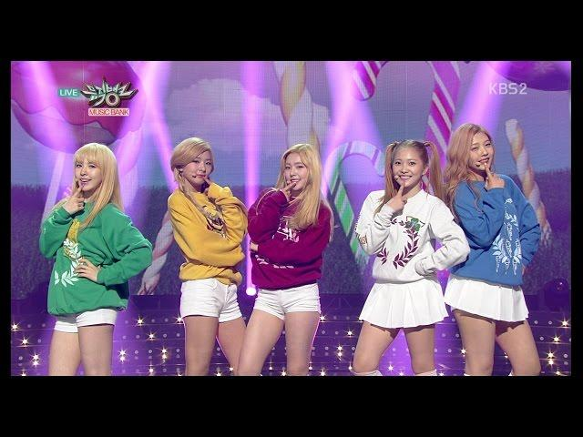 Red Velvet 레드벨벳_Front-Runner Stage 'Ice Cream Cake'_KBS MUSIC BANK_2015.03.27