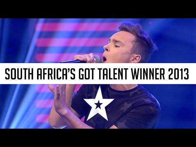 Watch Johnny Apple's winning performance on South Africa's Got Talent 2013